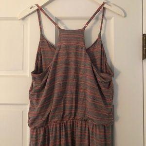 LAUREN CONRAD stripe maxi dress